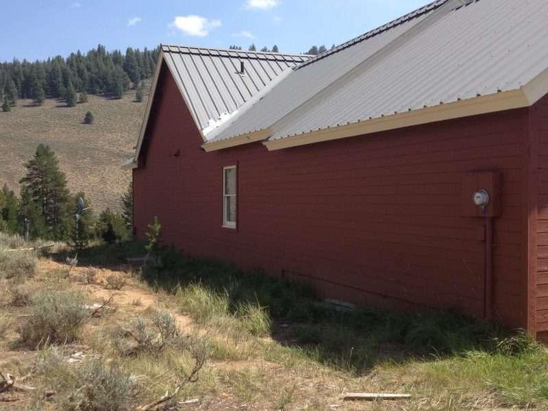 Stanley Idaho Remodel EverLog Siding