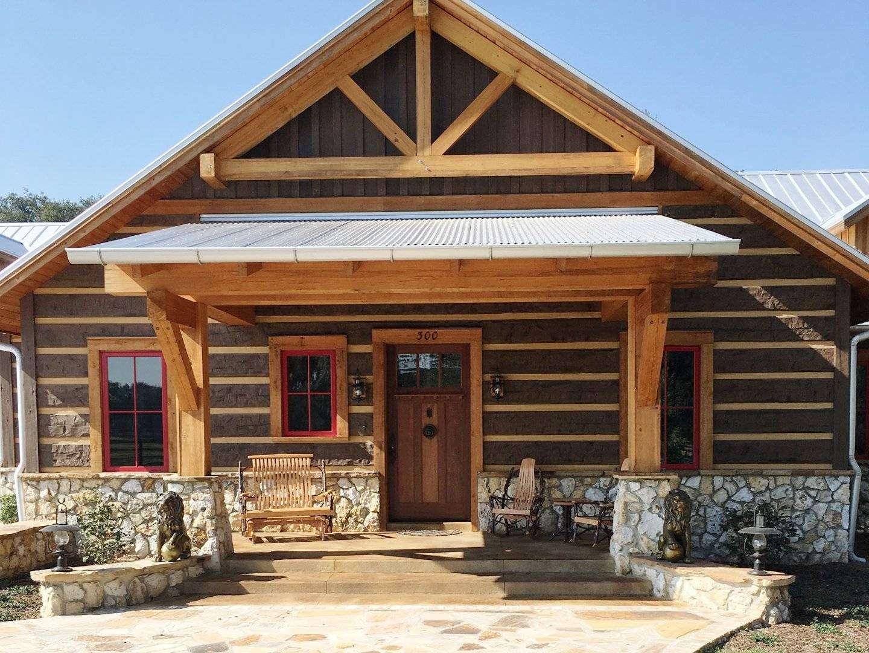 Villages Florida Concrete Log Home