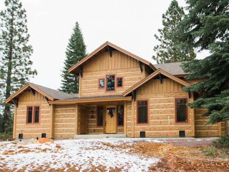 reclaimed idaho nggallery twin in cabin cb lumber and siding portfolio cabins page slideshow