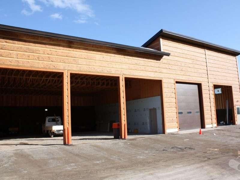 Teton Village Maintenance Buildings Jackson Hole