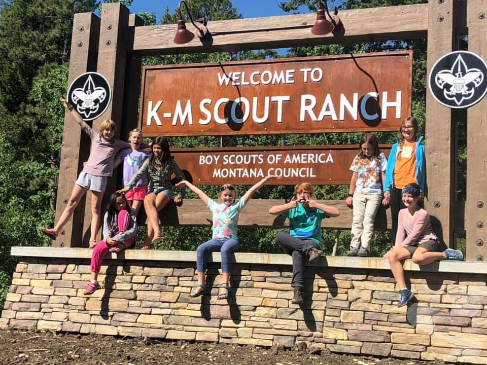 K-M Scout Ranch Lodge Timbers & Siding - Boy Scouts of America