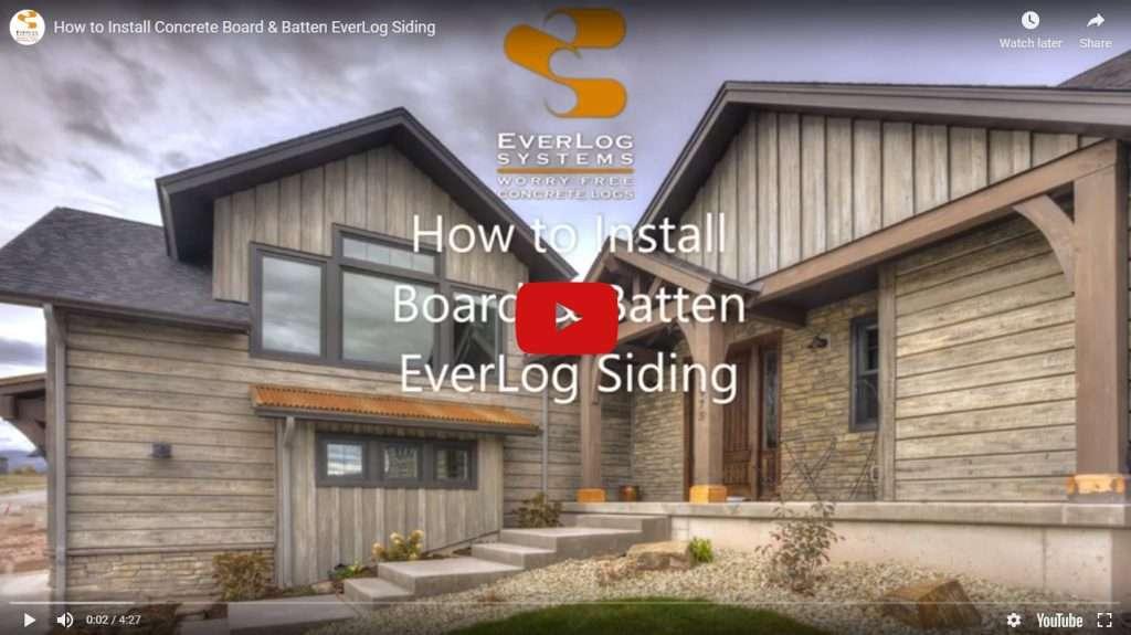 Board-and-Batten-EverLog-Siding-Installation-Video
