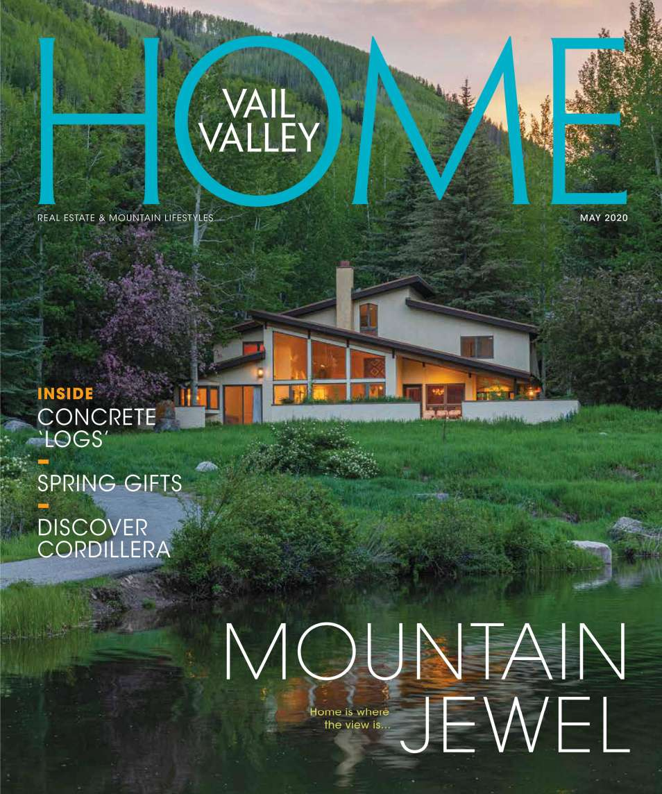 Vail Valley Home Magazine May 2020 Cover