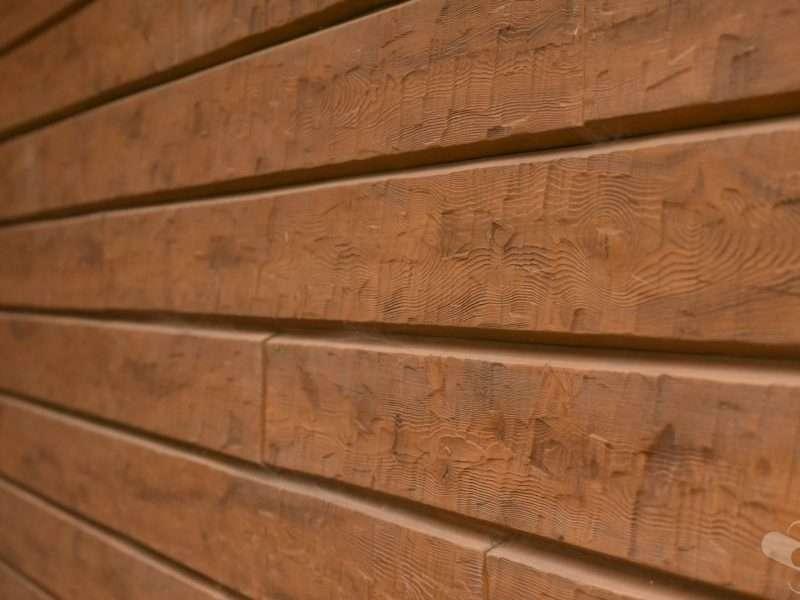 Annandale Minnesota Lake Cabin Concrete Log Siding