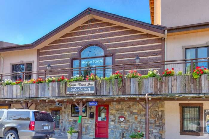 Swan River Inn Concrete Log Siding Remodel - Bigfork, Montana