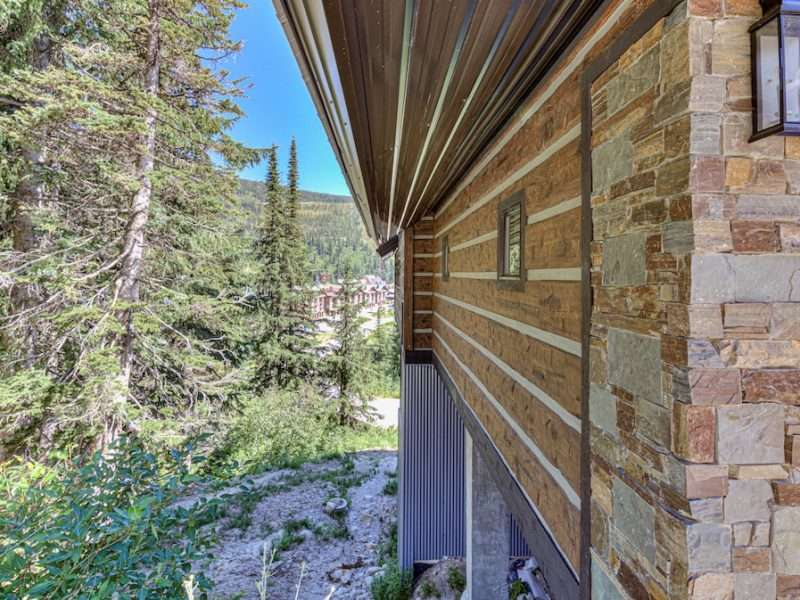 EverLog Concrete Siding - Basecamp - Schweitzer Mountain, Idaho