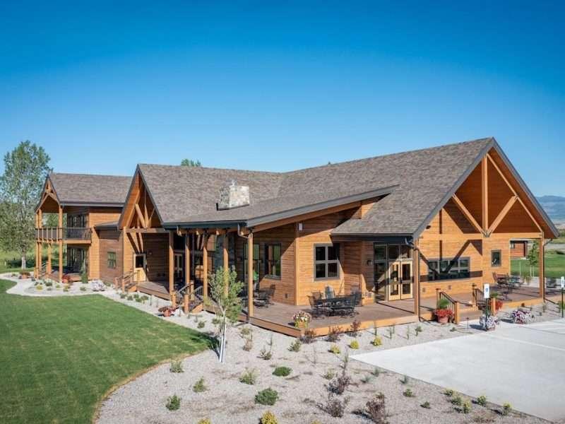 Madison Valley Ranch - EverLog Siding